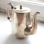 Реставрация покрытия антикварного чайника