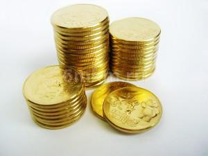 """Желтое золочение монет """"Sochi 2014"""" в Москве по выгодной цене. толщина золота 0,5 мкм."""