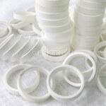 Серебрение техническое контактных колец из латуни.