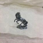 Патинирование серебра без протирки