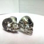 декоративное родирование серебряных перстней