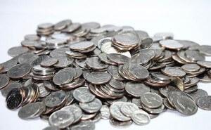 Серебрение монет в Москве