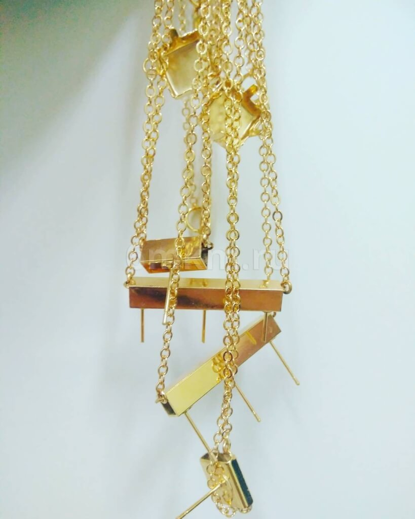 Покрытие золотом серег, колец, бижутерии и ювелирных изделий в Москве