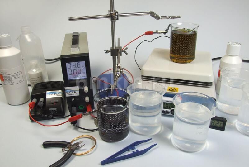 Rhodium-tank-plating-kit