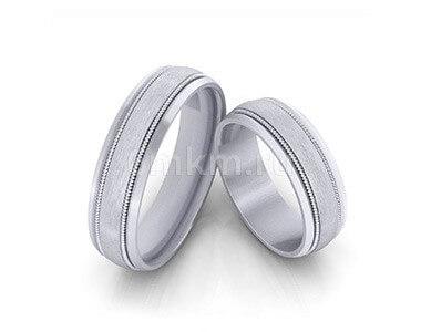 Родированные обручальные кольца